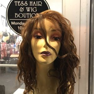 Accessories - Wig curly wavy Swisslace Lacefront 14 inch 2019